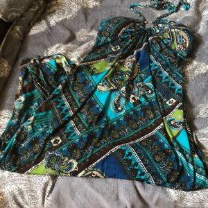 Gorgeous Heart-soul Maxi Dress braided Halter